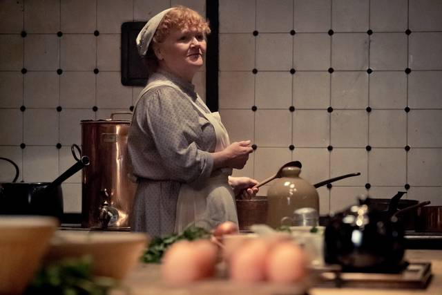 Downton Abbey Lesley Nicol foto dal film 2