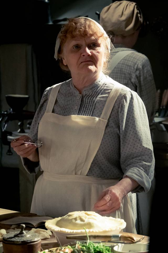 Downton Abbey Lesley Nicol foto dal film 3