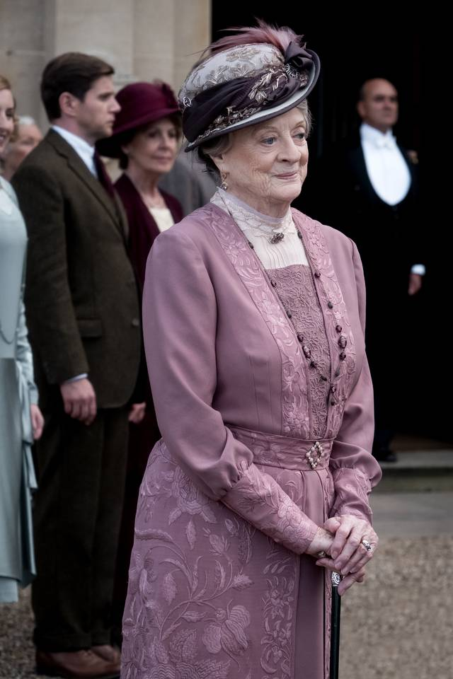 Downton Abbey Maggie Smith foto dal film 2