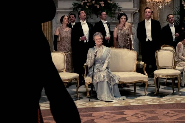 Downton Abbey Maggie Smith foto dal film 4