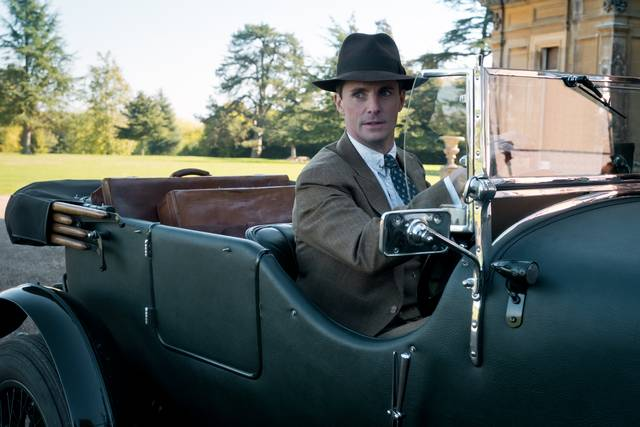 Downton Abbey Matthew Goode foto dal film 1