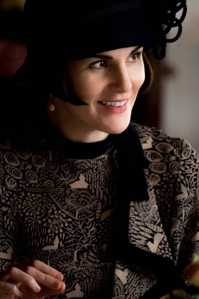 Downton Abbey Michelle Dockery foto dal film 4