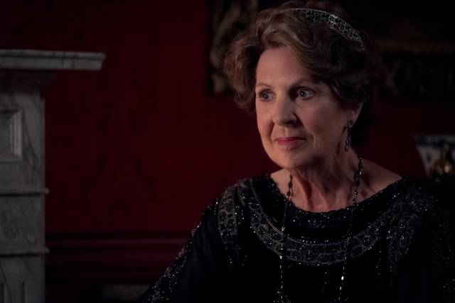 Downton Abbey Penelope Wilton foto dal film 1