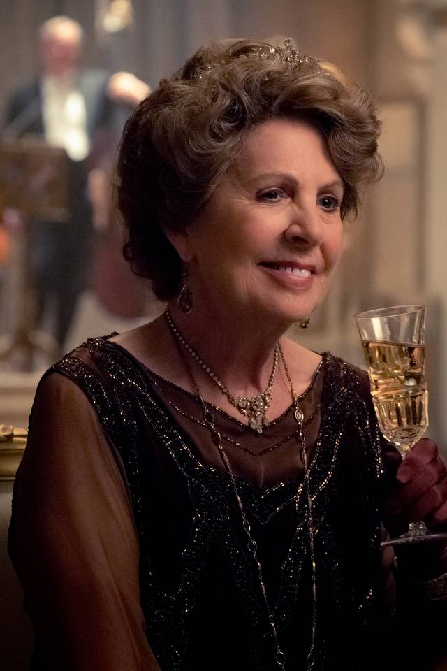 Downton Abbey Penelope Wilton foto dal film 4