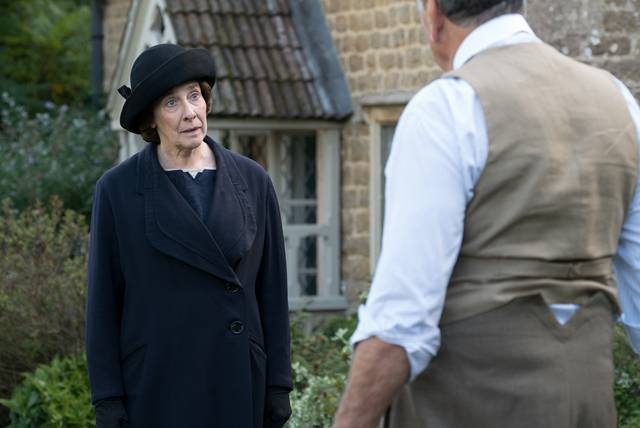 Downton Abbey Phyllis Logan foto dal film 3
