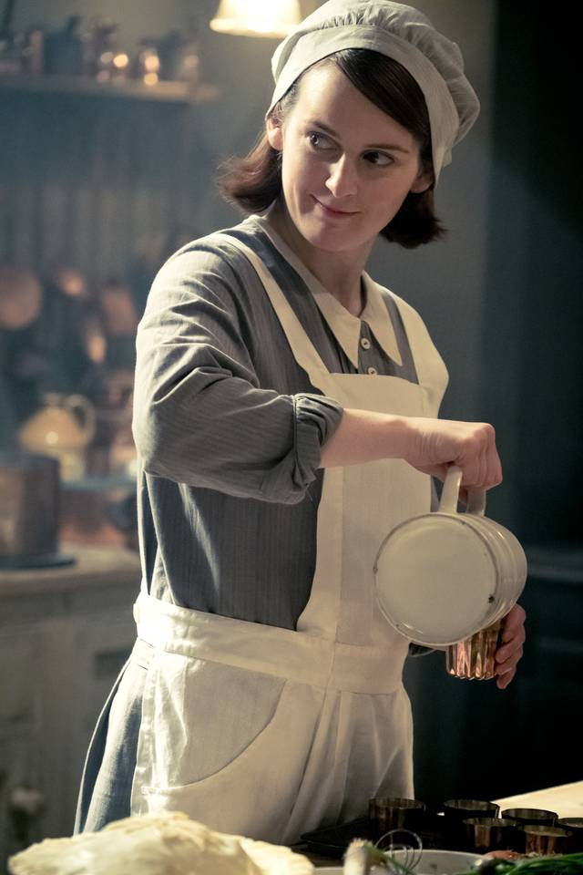 Downton Abbey Sophie McShera foto dal film 2