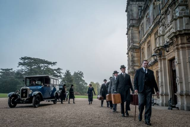 Downton Abbey foto dal film 9