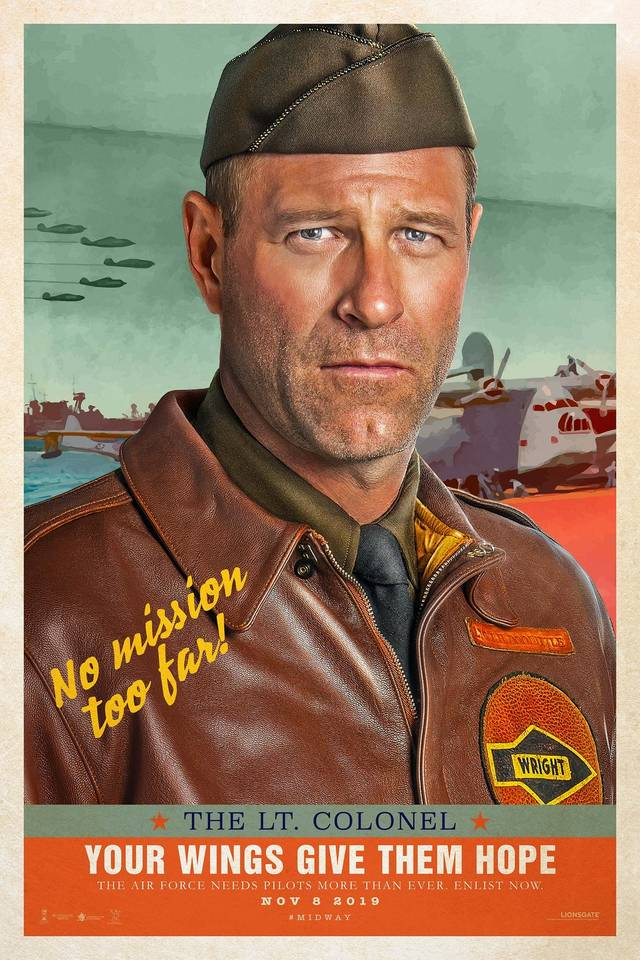 Midway Teaser Character Poster USA 14
