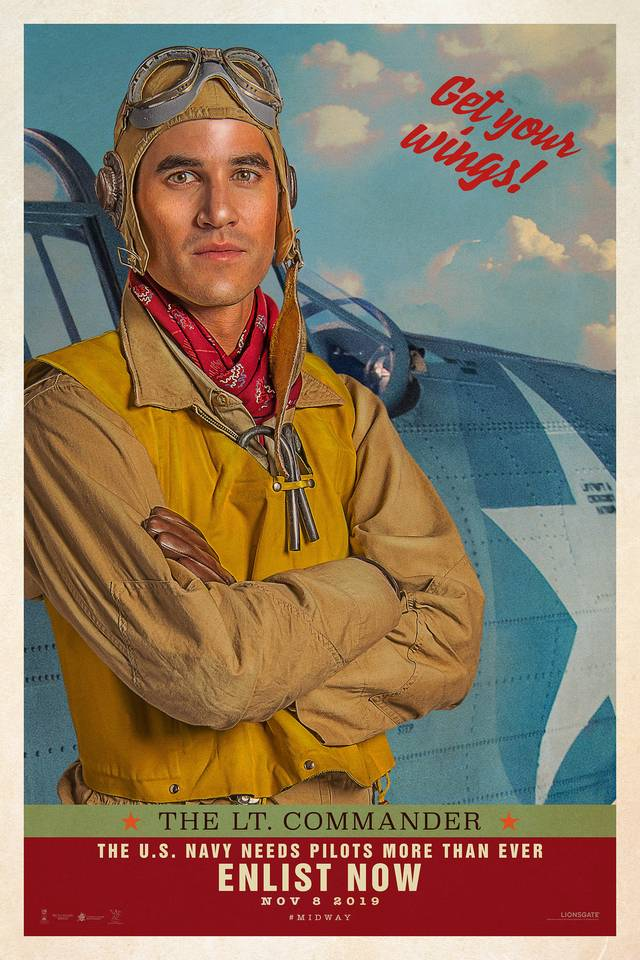 Midway Teaser Character Poster USA 15