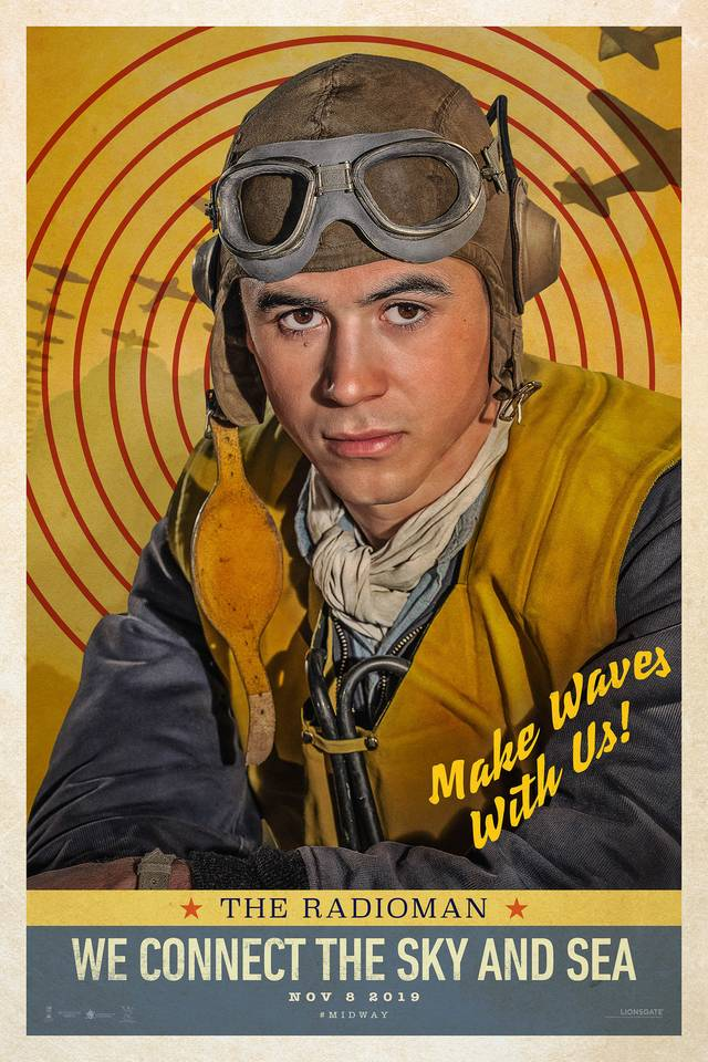 Midway Teaser Character Poster USA 18