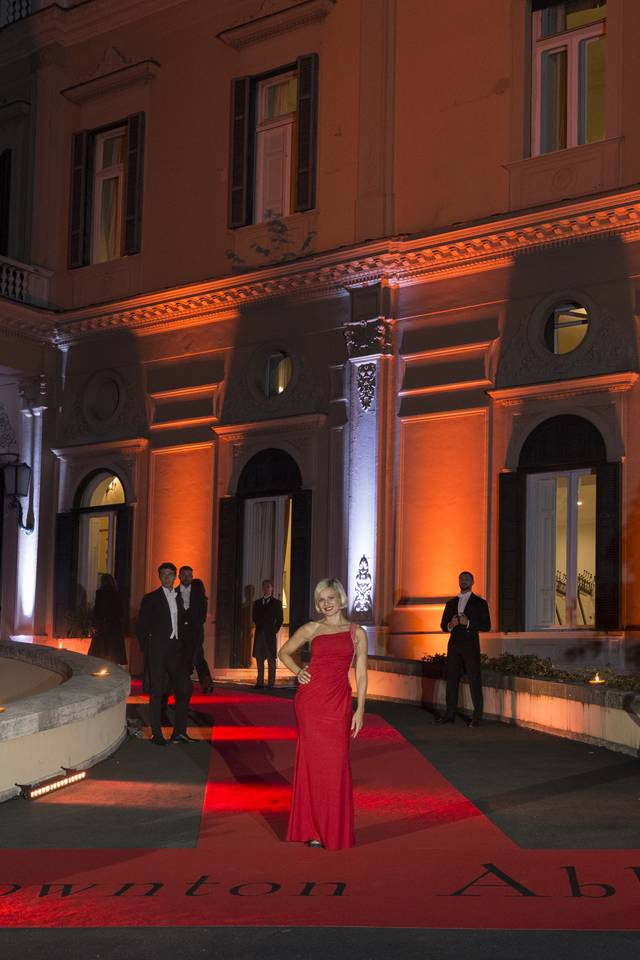 Downton Abbey_Festa del Cinema di Roma 2019_Villa Wolkonsky foto 4