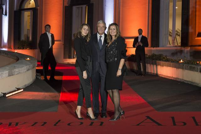 Downton Abbey_Festa del Cinema di Roma 2019_Villa Wolkonsky foto 5