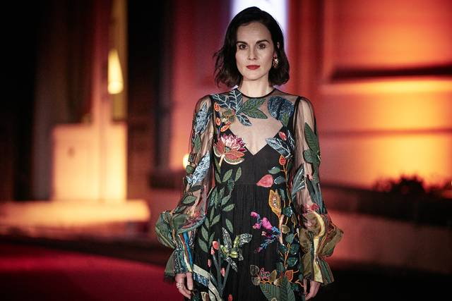 Downton Abbey_Michelle Dockery_Festa del Cinema di Roma 2019_Villa Wolkonsky foto 1
