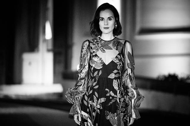 Downton Abbey_Michelle Dockery_Festa del Cinema di Roma 2019_Villa Wolkonsky foto 2