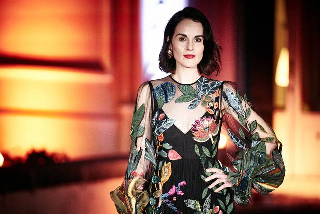 Downton Abbey_Michelle Dockery_Festa del Cinema di Roma 2019_Villa Wolkonsky foto 3