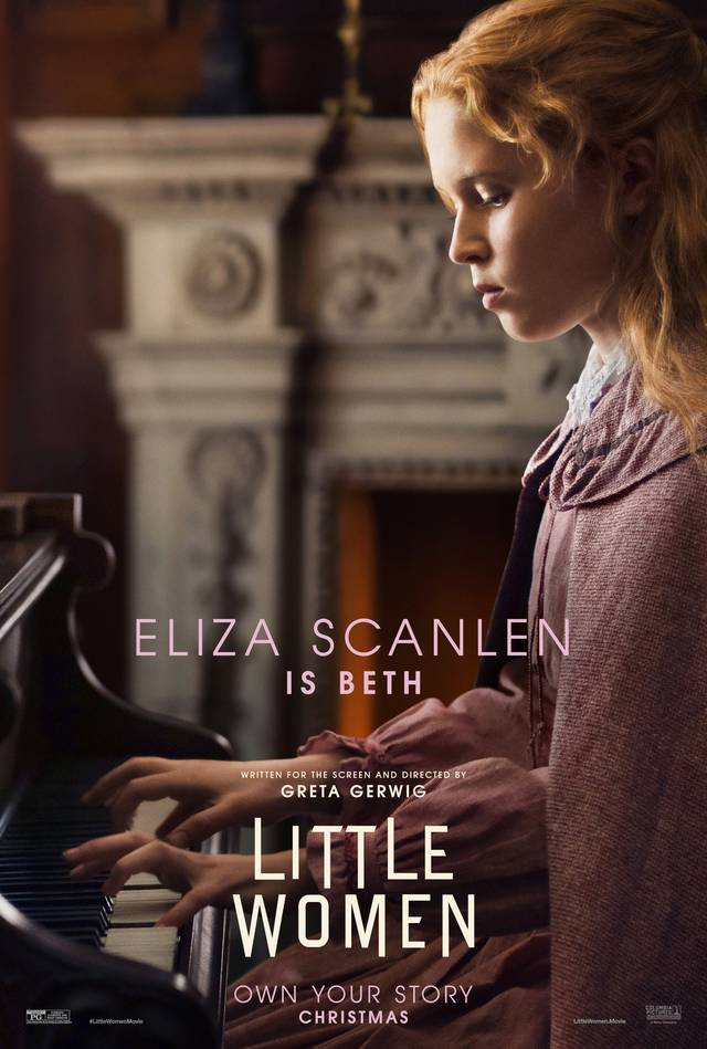 Piccole Donne Teaser Character Poster USA 2