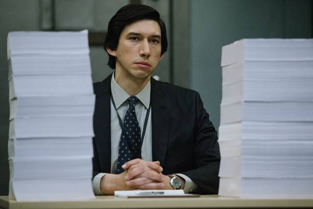 The Report Adam Driver foto dal film 8