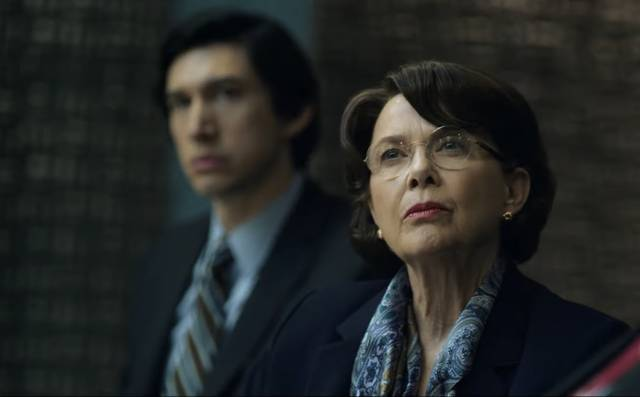 The Report Annette Bening Adam Driver foto dal film 10
