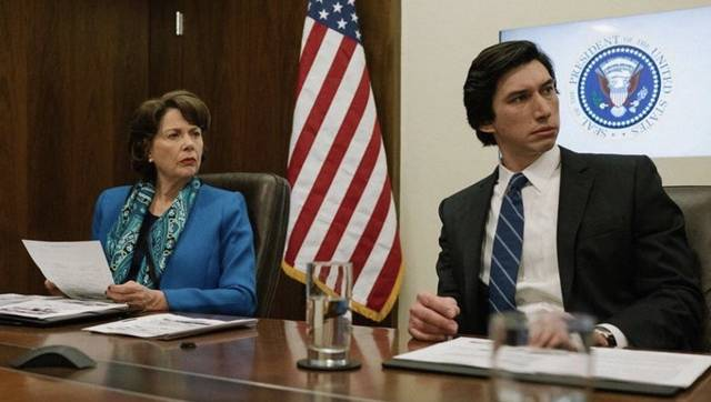 The Report Annette Bening Adam Driver foto dal film 11