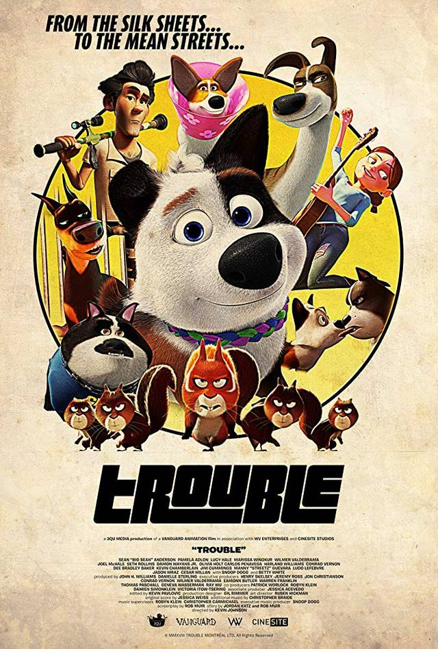 Trouble Teaser Poster internazionale
