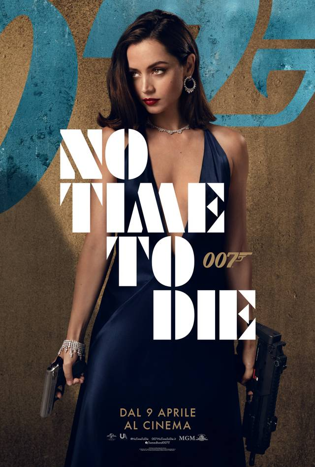 No Time To Die Character Poster Italia 1