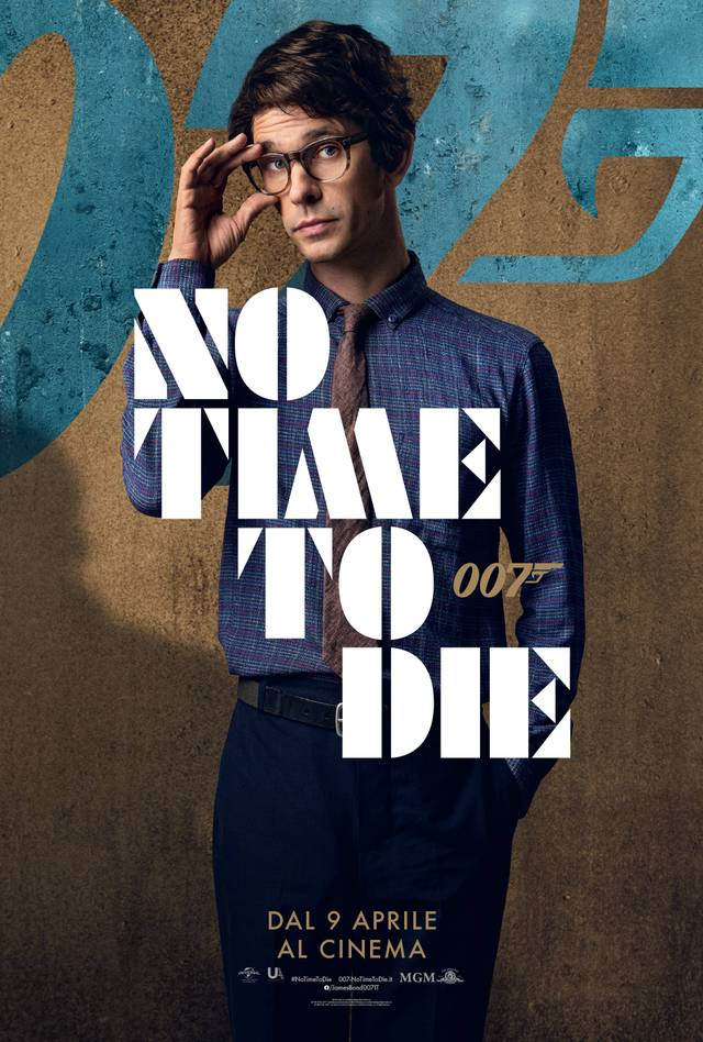 No Time To Die Character Poster Italia 2