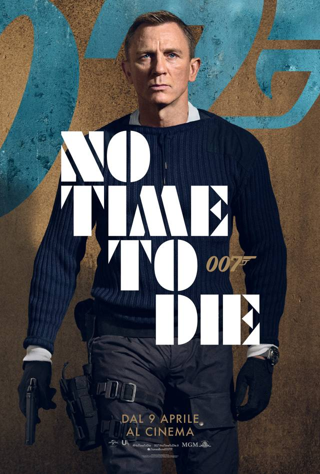 No Time To Die Character Poster Italia 3