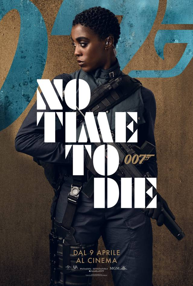 No Time To Die Character Poster Italia 4