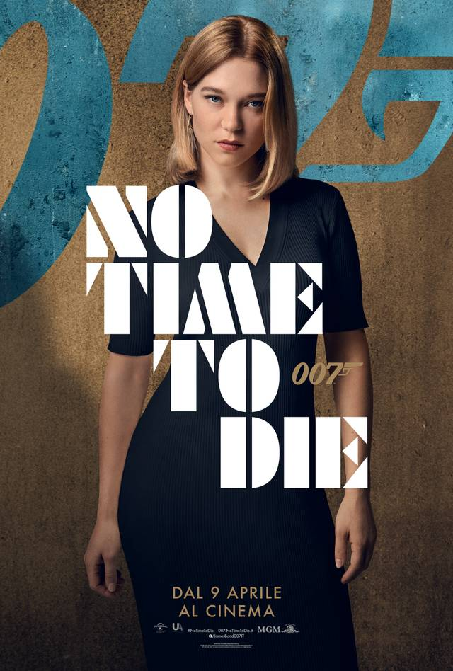 No Time To Die Character Poster Italia 5