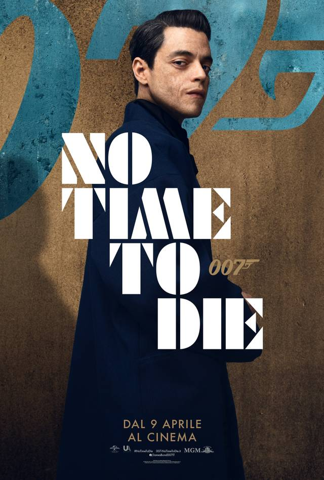No Time To Die Character Poster Italia 6
