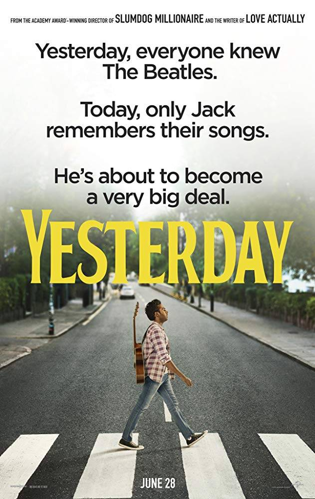 Yesterday Teaser Poster UK