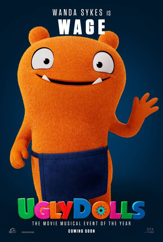 Ugly Dolls Teaser Character Poster USA 10