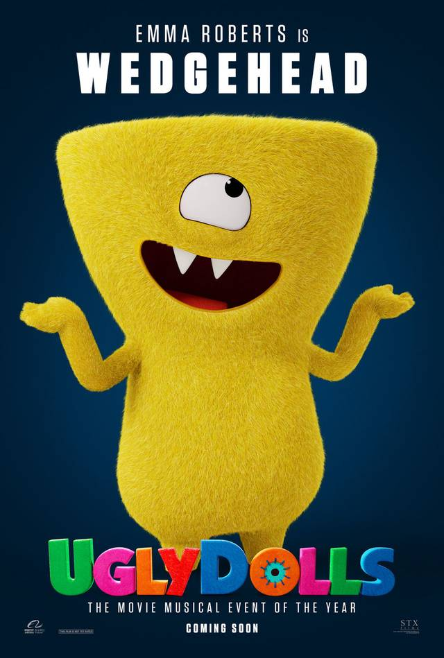 Ugly Dolls Teaser Character Poster USA 3