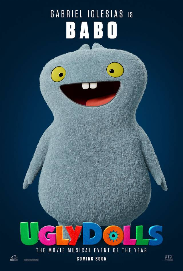 Ugly Dolls Teaser Character Poster USA 4