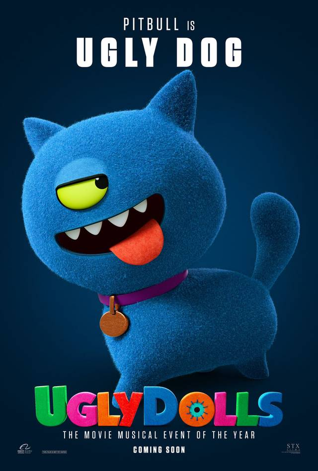 Ugly Dolls Teaser Character Poster USA 6