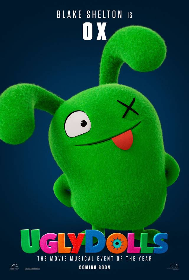 Ugly Dolls Teaser Character Poster USA 7