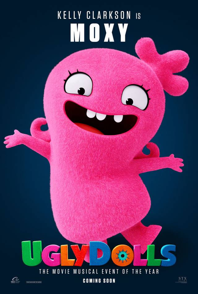 Ugly Dolls Teaser Character Poster USA 9