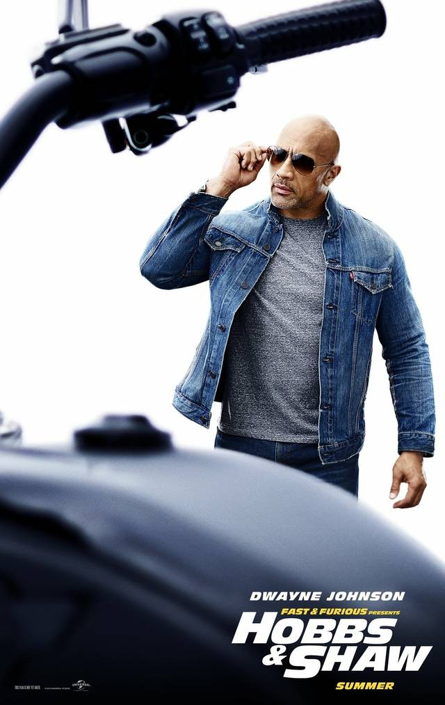 Fast & Furious - Hobbs & Shaw_Teaser Character Poster USA 1