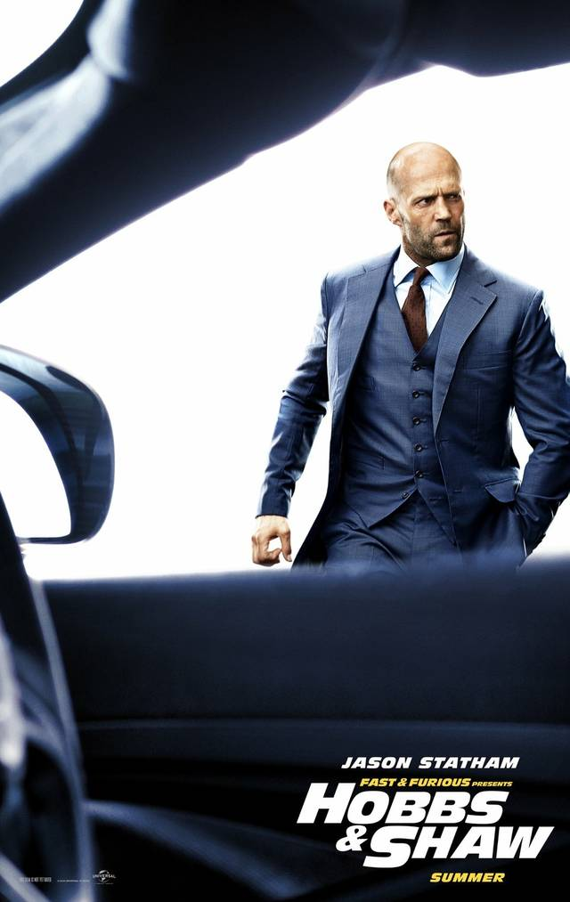 Fast & Furious - Hobbs & Shaw_Teaser Character Poster USA 2
