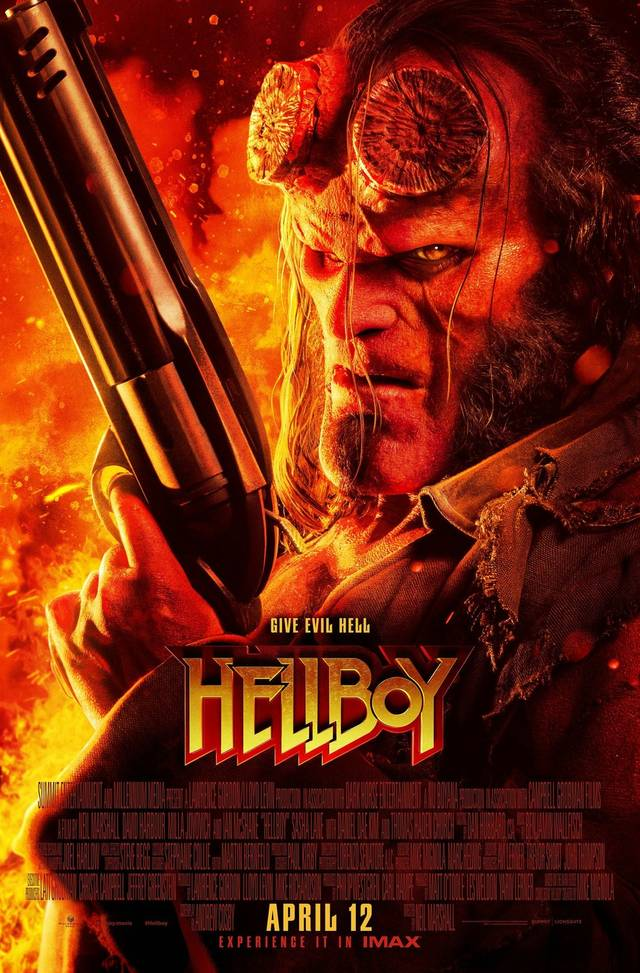 Hellboy Poster USA