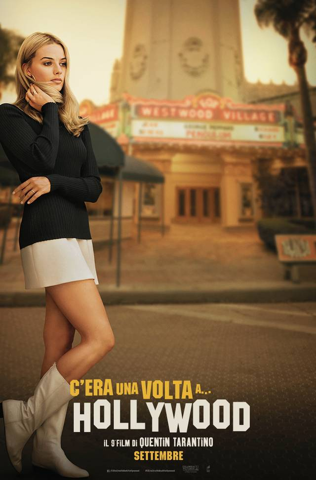 C'era una volta a... Hollywood_Teaser Character Poster USA 2