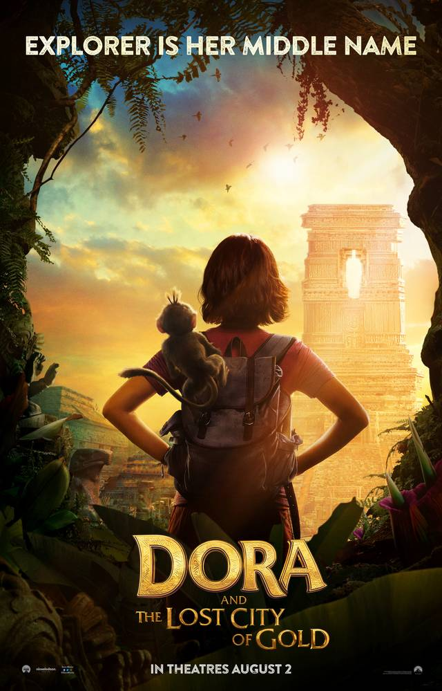 Dora and the Lost City of Gold Teaser Poster USA 1