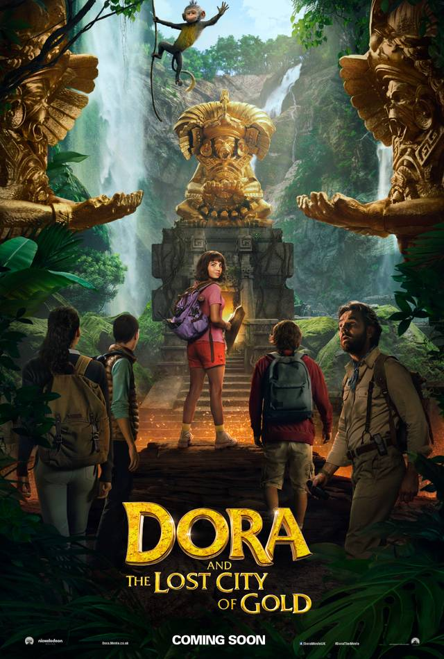 Dora and the Lost City of Gold Teaser Poster USA 2