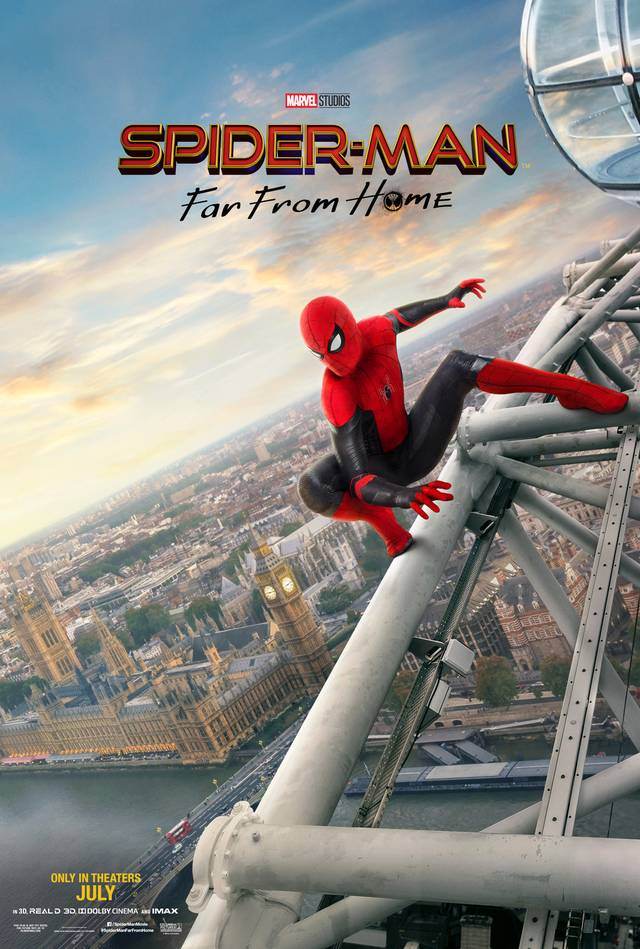 Spider-Man - Far From Home Teaser Poster USA 2