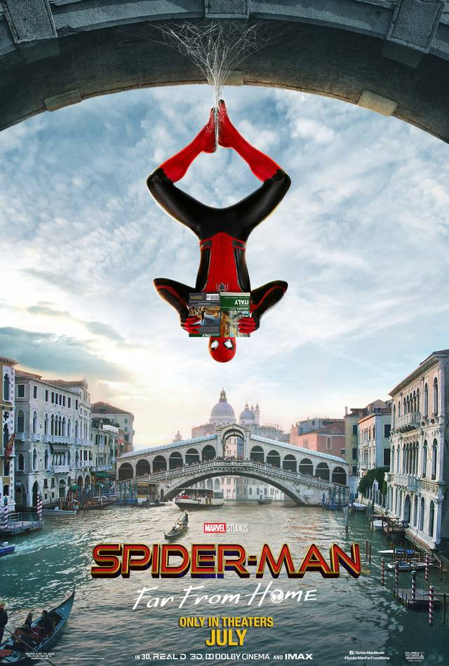 Spider-Man - Far From Home Teaser Poster USA 3
