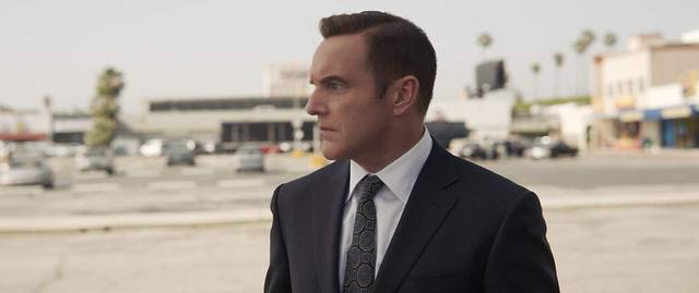 Captain Marvel Clark Gregg foto dal film 3