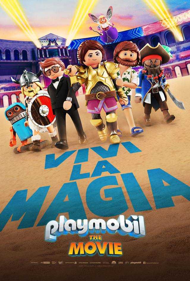 Playmobil - The Movie Teaser Poster Italia