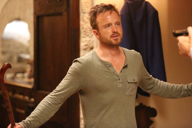 Welcome Home Aaron Paul foto dal film 2