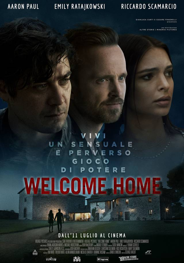 Welcome Home Poster Italia