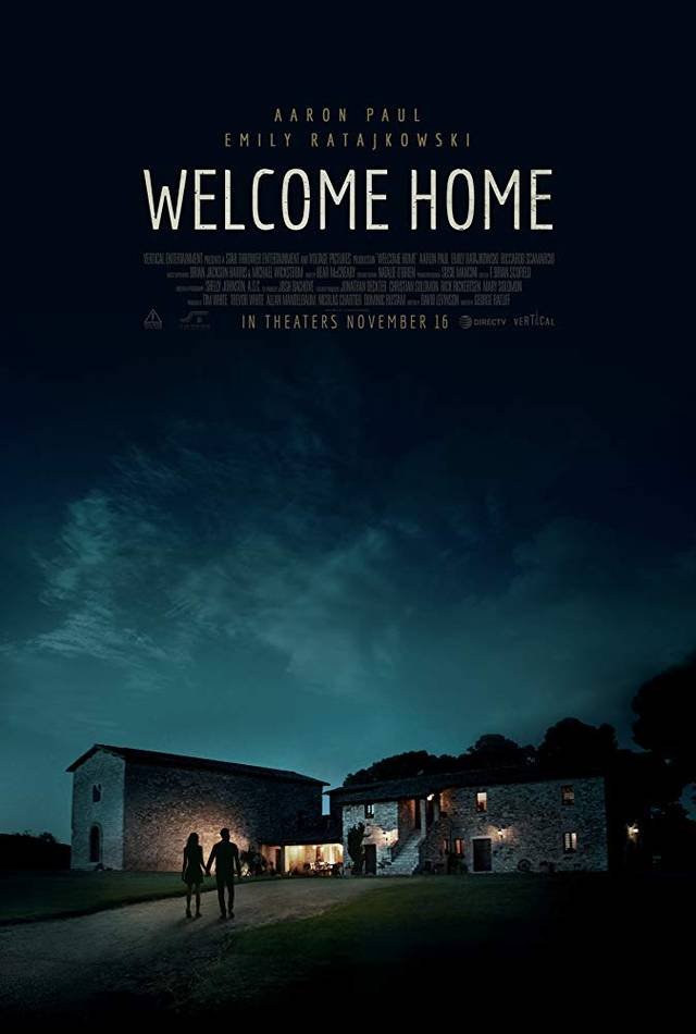 Welcome Home Poster USA